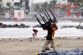 'Katia' gana fuerza mientras se aproxima a la costa de México