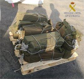 Incautados en Altea (Alicante) 226 kilos de cocaína escondidos en un contenedor de almendras