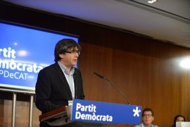 """Puigdemont advierte de que el Estado intentará """"poner a prueba"""" a los catalanes"""