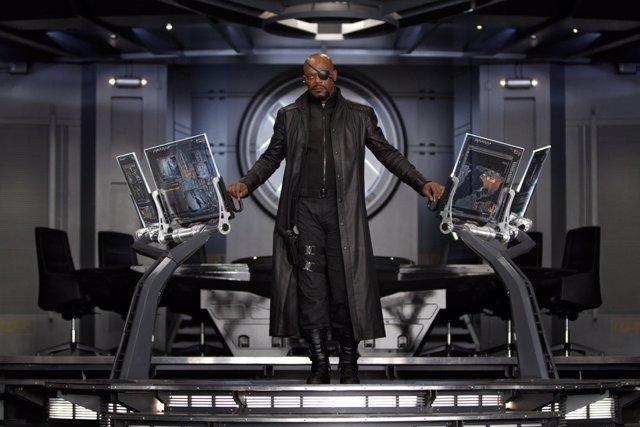 Vengadores Nick Fury