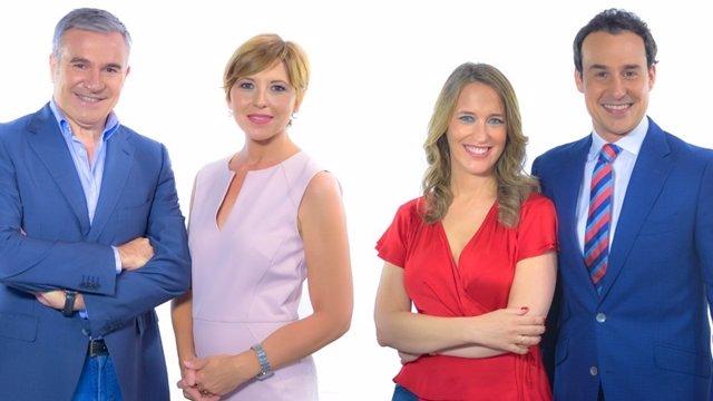 Canal Sur TV renueva la imagen de sus informativos