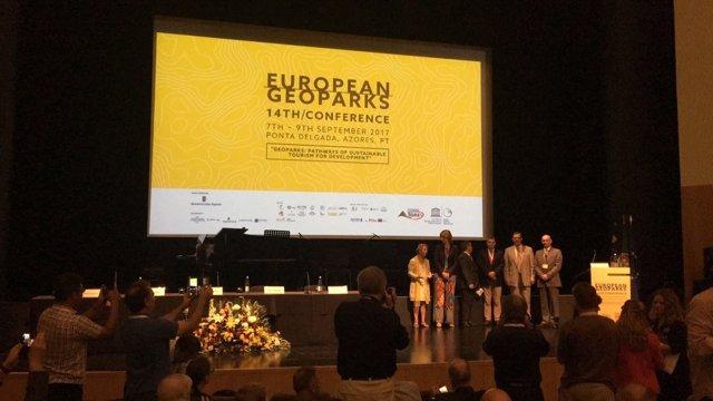 El proyecto del Cuaternario se presenta la Conferencia Europea de Geoparques