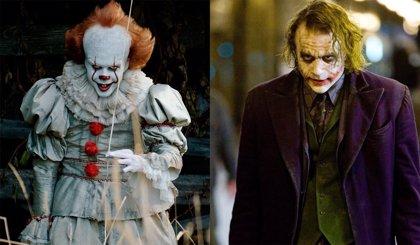 Bill Skarsgard compara al Pennywise de IT con el Joker de Heath Ledger