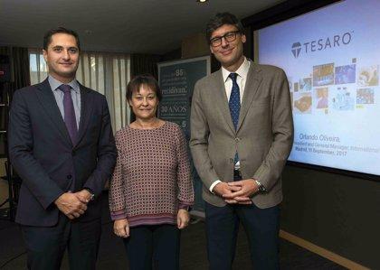 Tesaro crea una filial en España y Portugal