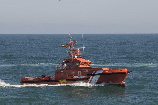 Guardamar Concepción Arenal en tareas para interceptar inmigrantes en Tarifa