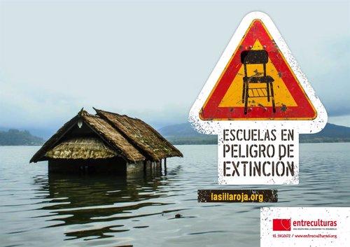 Campaña 'Escuelas en peligro de extinción'