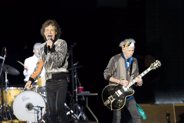 Tour-Auftakt in Hamburg, Die Rolling Stones geben live Konzert im Stadtpark in H