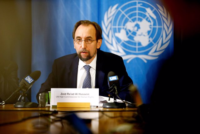 United Nations High Commissioner for Human Rights Zeid Ra'ad al-Hussein of Jorda