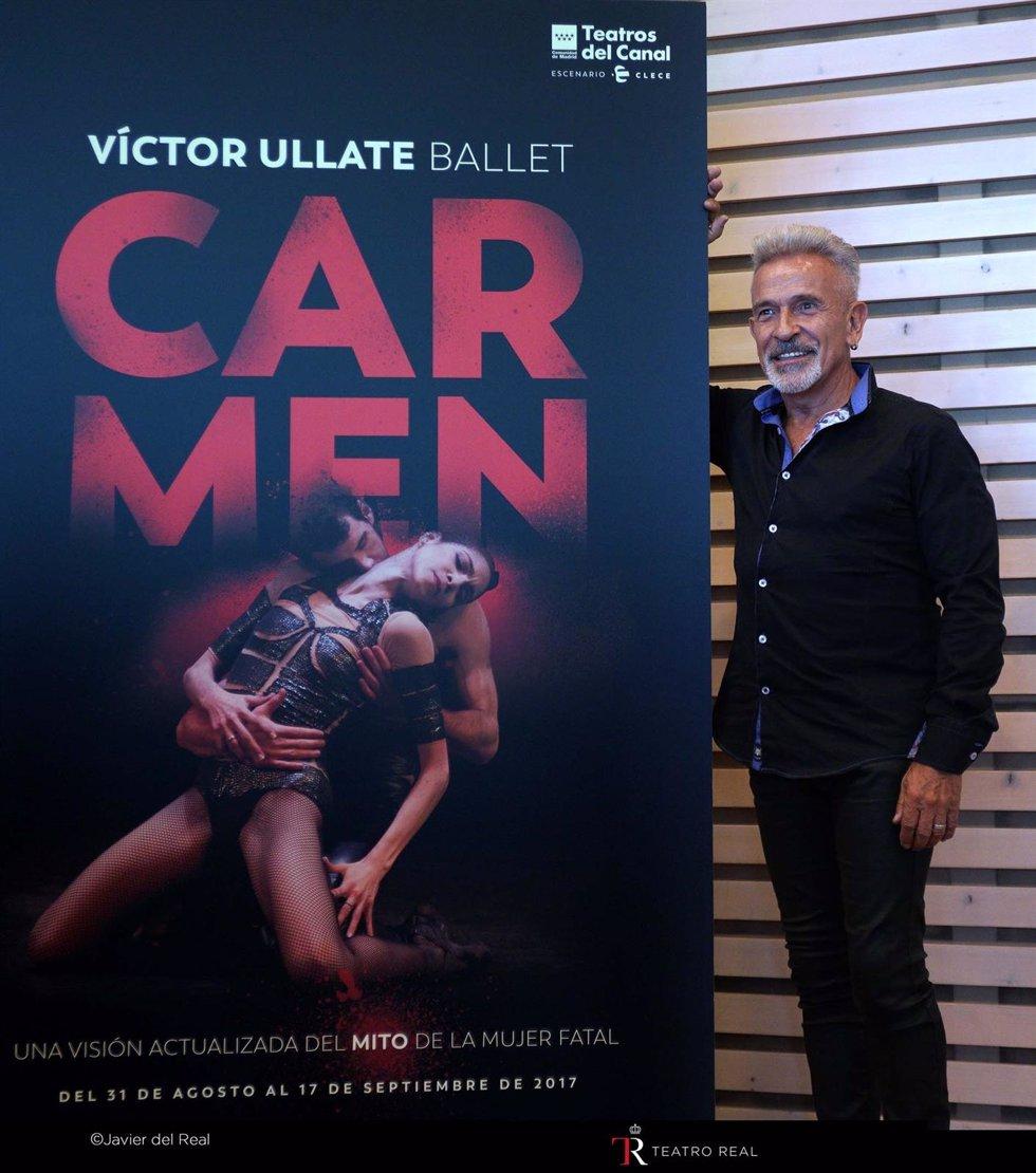 Víctor Ullate Presenta 'Carmen' En El Teatro Real