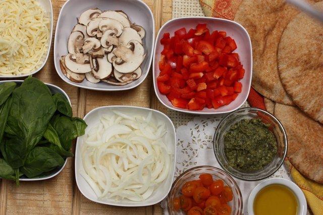 Dieta mediterránea, verduras