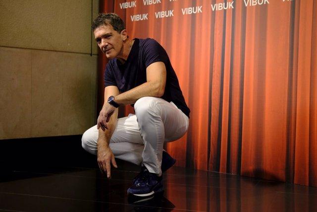 Photocall amb Antonio Banderas