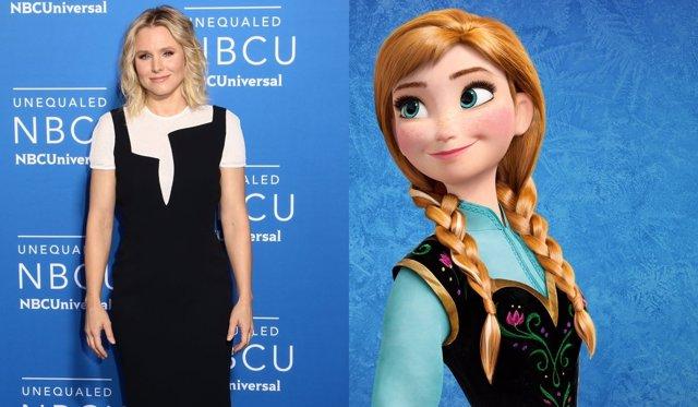Kristen Bell, Anna en 'Frozen'