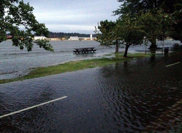 Inundacioens recurrentes afectan a la costa este de Estados Unidos
