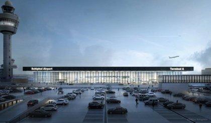 Ineco y Lamela se adjudican el diseño de la nueva terminal del aeropuerto de Amsterdam