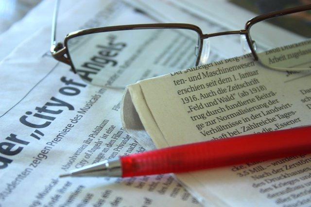 Periodismo, periódicos, negocio, periodistas