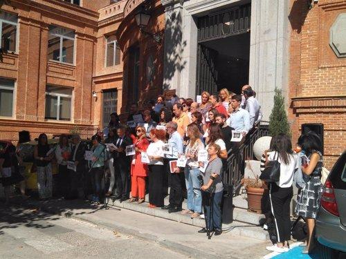 Minuto de Silencio de Cruz Roja Española por la cooperante asesinada