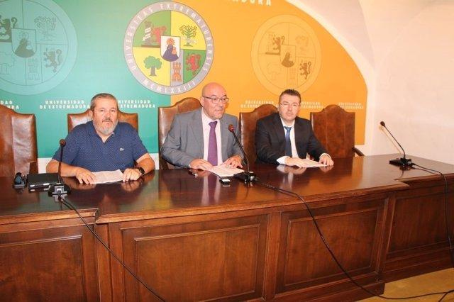 Presentación del II Congreso de Ordenación del Territorio en Cáceres