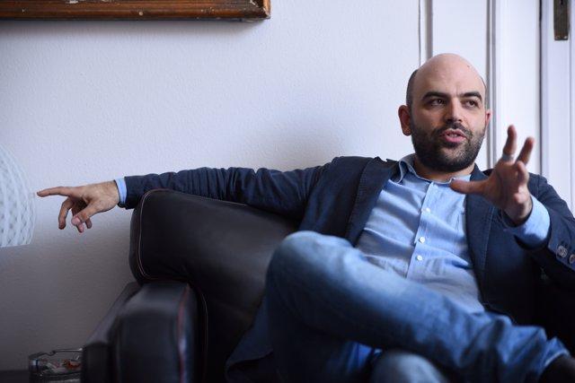 L'escriptor Roberto Saviano