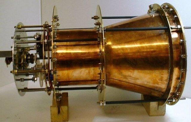 Prototipo inicial de motor emdrive