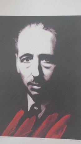 Cartel de los actos en homenaje a Lluís Companys