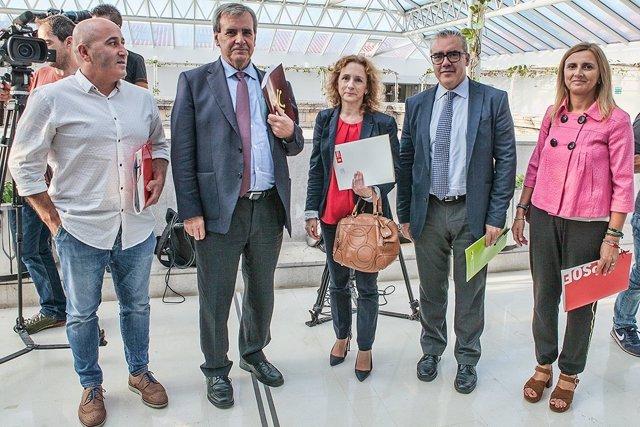 Reunión comisión seguimiento pacto PRC-PSOE
