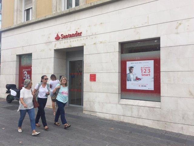 Sucursal bancaria, banco, Banco Santander, oficina bancaria