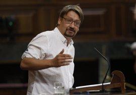 Unidos Podemos promueve la comparecencia de Rajoy en el Congreso para hablar de la situación en Cataluña