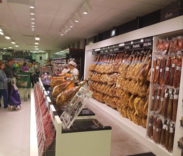 Imaxe do novo supermercado Mercadona en Logroño