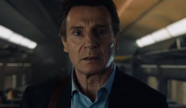 Liam Neeson en 'The Commuter'