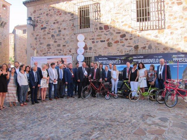 Arranca en Extremadura el proyecto Eurovelo