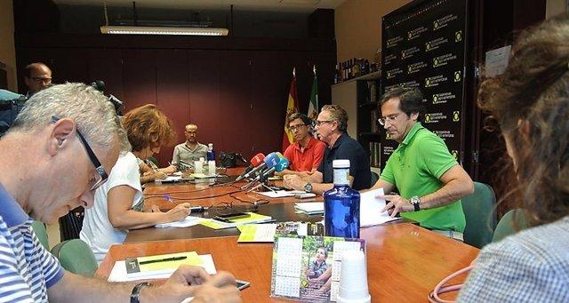 Rueda de prensa de Ventura Arroyo