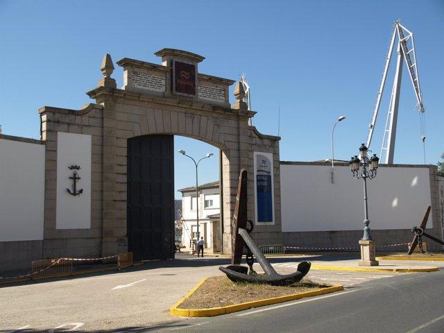 Navantia en Ferrol (A Coruña)