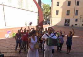 """La CUP pide a los Mossos apoyar los derechos políticos frente a """"los del tricornio"""""""