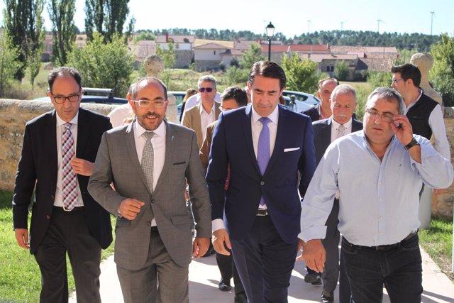 Manuel López, Luis Rey, Quiñones y Esteban Molina.