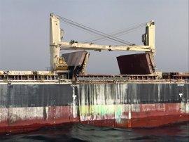 """Granada.- El barco remolcado a Motril no representa """"riesgo"""" para las personas o el medio ambiente, señala el Puerto"""