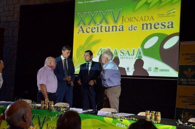 XXXV Jornada de Aceituna de Mesa organizada por Asaja-Sevilla.