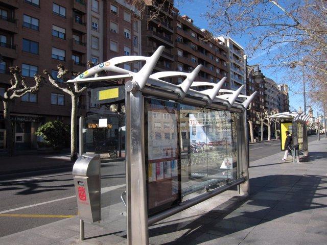 Marquesina autobús Logroño