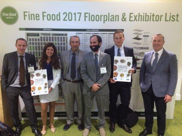 Jornada de Extenda en la feria 'Fine Food Australia'