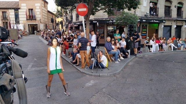 Pasarela por las calles de Madrid
