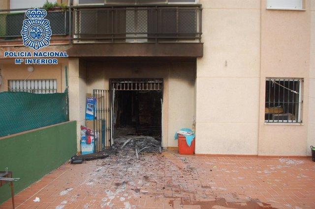 Detenidos los autores del incendio de la vivienda de El Saladillo