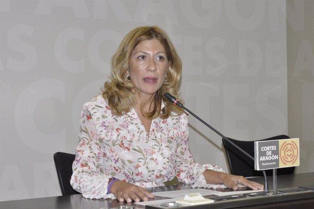 La portavoz del PP en las Cortes, Mar Vaquero