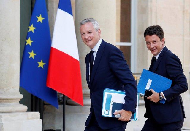 El viceministro de Economía francés, Benjamin Griveaux