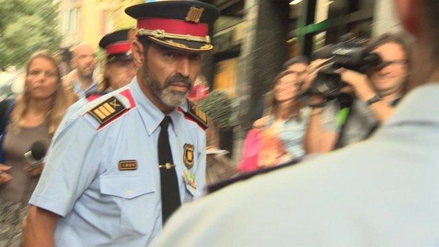 El mayor de Mossos d'Esquadra, Josep Lluís Trapero