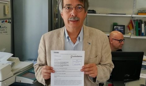 Cs quiere que el Parlament se manifieste 'en defensa de la legalidad democrática de Cataluña'