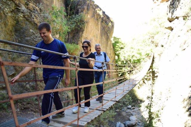 Nuevo camino de acceso a Los Cahorros