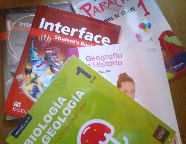 Becas libros de texto
