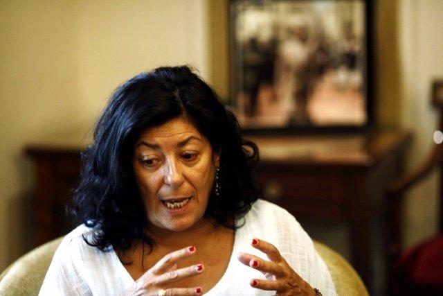 Entrevista d'Europa  Press amb Almudena Grandes