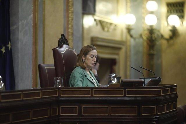 Ana Pastor en el debate de Presupuestos en el Congreso