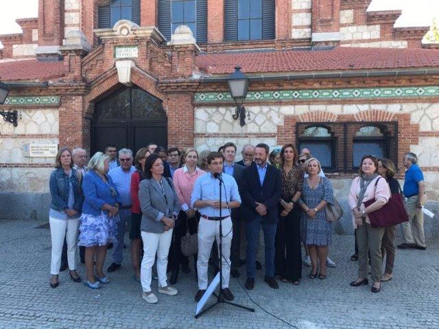 El portavoz popular en el Ayuntamiento de Madrid, José Luis Martínez-Almeida