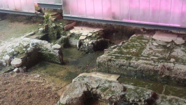 Verdina sobre las ruinas de la Encarnación.
